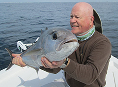 big fish catching in navarre