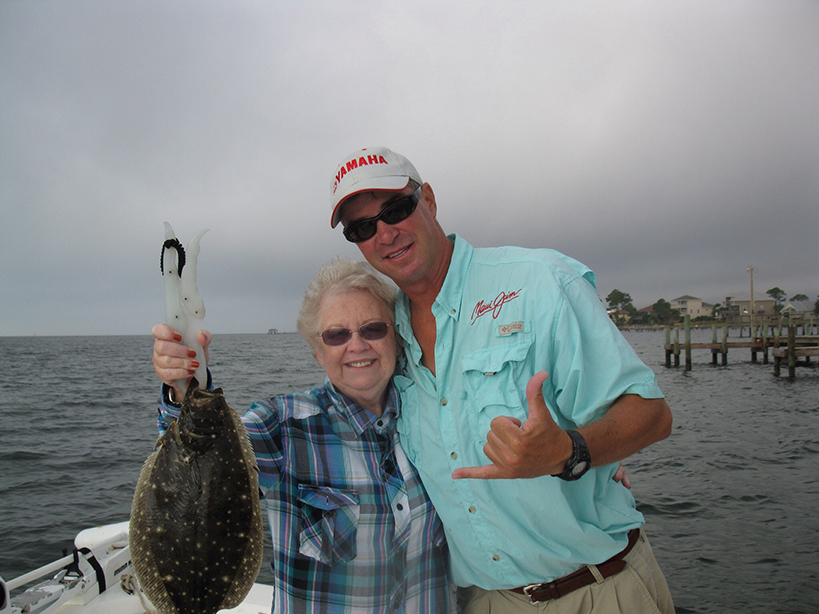 flounder on charter
