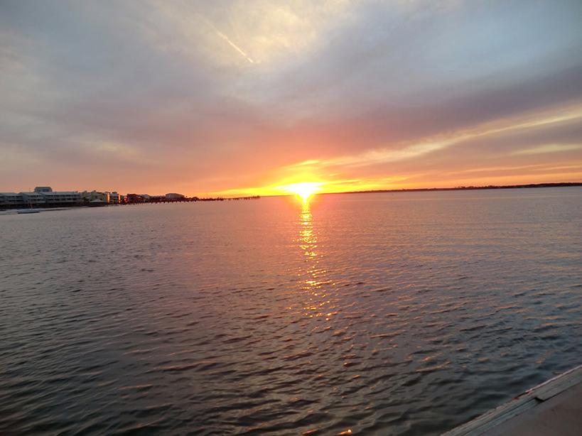 sunset on charter