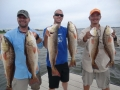 catching a lot of fishing on charter