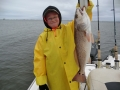 fishing navarre charter in cold weather