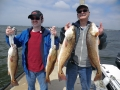 fishing in navarre with family