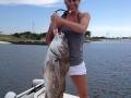 megan fishing