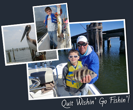 kids fishing trip